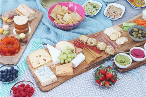 food for picnics zoella picnic party
