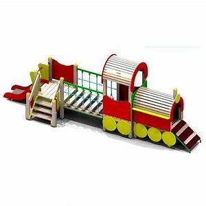 Aire De Jeux Extérieur Collectivité : locomotive aire de jeux pour enfants ~ Preciouscoupons.com Idées de Décoration