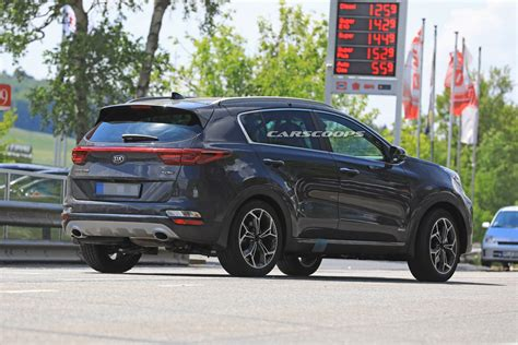Kia Sportage 2019 by 2019 Kia Sportage Facelift Spied Undisguised With Minor