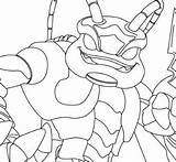 Skylanders Pages Swarm Dog Coloring Pen King Bone Fire Coloringpagesonly sketch template
