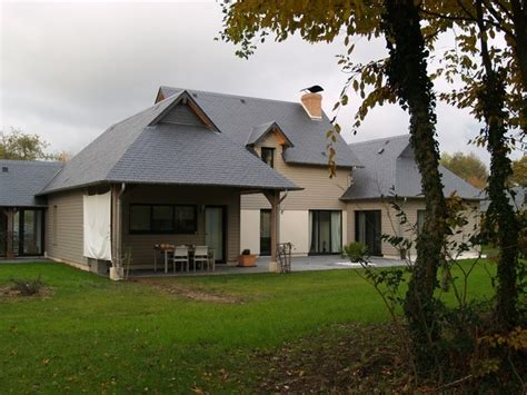 maison ossature bois a vendre normandie a 5 mn de deauville terres et demeures de normandie
