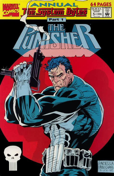 Kaos Punisher 5 the punisher annual 5 punisher comics