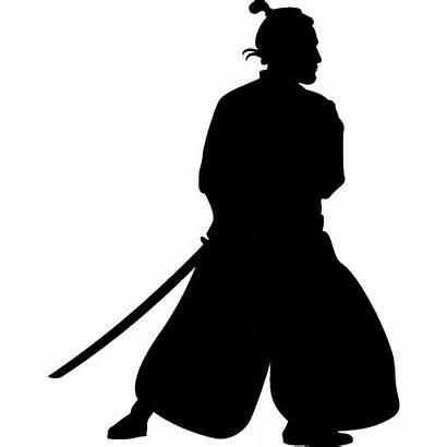 Samurai Stencil Clip Silueta Usable Inch Silhouette