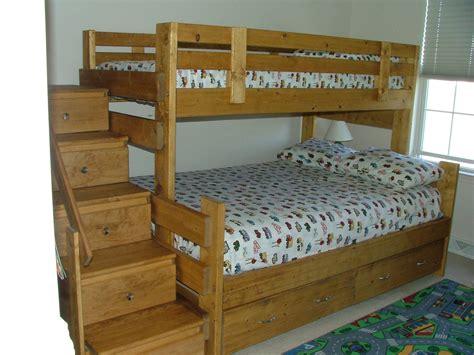 build a bed bunk bed building plans bed plans diy blueprints