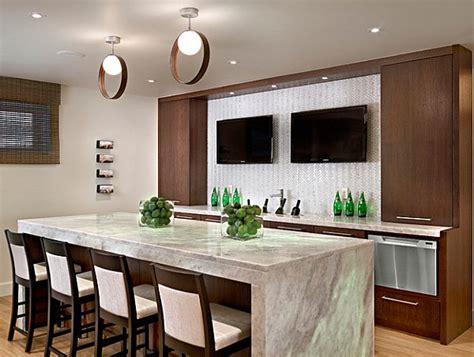 kitchen designs with islands and bars modern kitchen island bar decoist