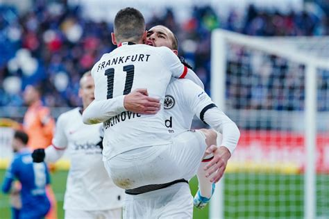 43 puan ve averajla 5. TSG Hoffenheim verliert gegen Eintracht Frankfurt - FOTOS ...