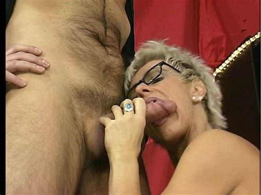#Shorthaired #Mature #Takes #It #In #Both #Holes