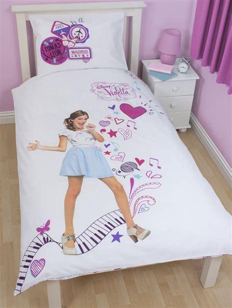 violetta housse de couette parure de lit 135 x 200 cm quot madrid single quot violetta