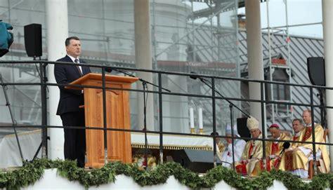 Valsts prezidenta Raimonda Vējoņa uzruna Vissvētākās ...