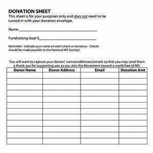 donation sheet template receipt template With donation sign up sheet template