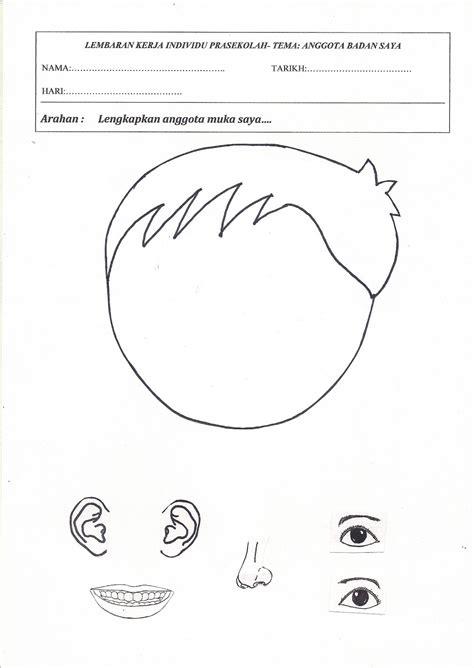 gambar gambar mewarna anggota tubuh colouring picture