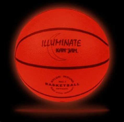 Light Up Basketball by Ultra Bright Light Up Led Glow Basketball By Kan Jam