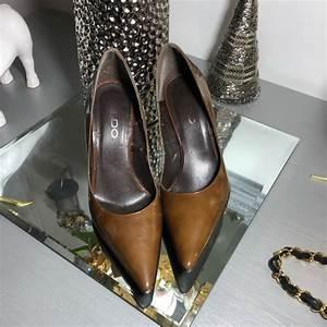 Aldo Shoes Aldo Brown Pointed Toe Heels Womens Shoes