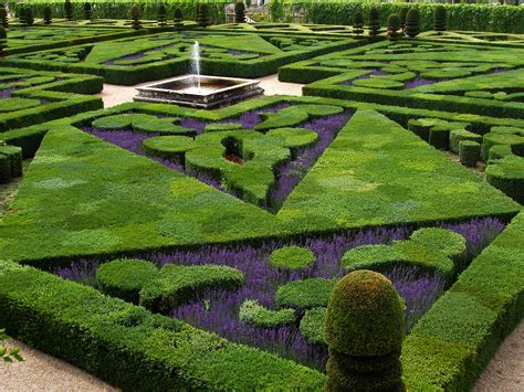 Garden Of Love At Château De Villandry Most Romantic