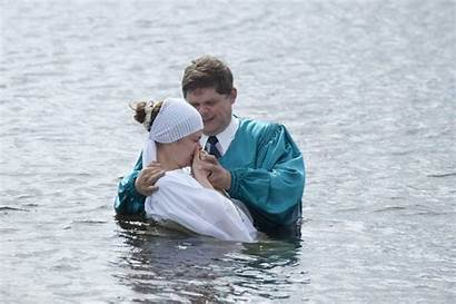 Baptism Around Russia Imb Prisons Ponds Pools