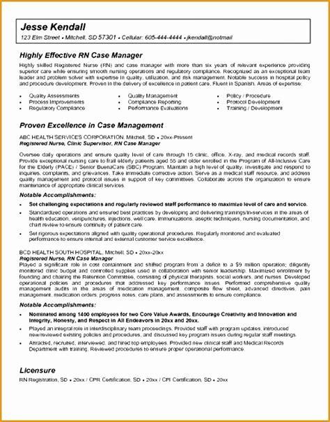 9 sle director nursing resume free sles exles