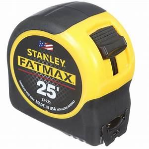 Stanley Fat Max : stanley fatmax 25 ft x 1 1 4 in tape measure 33 725y the home depot ~ Eleganceandgraceweddings.com Haus und Dekorationen