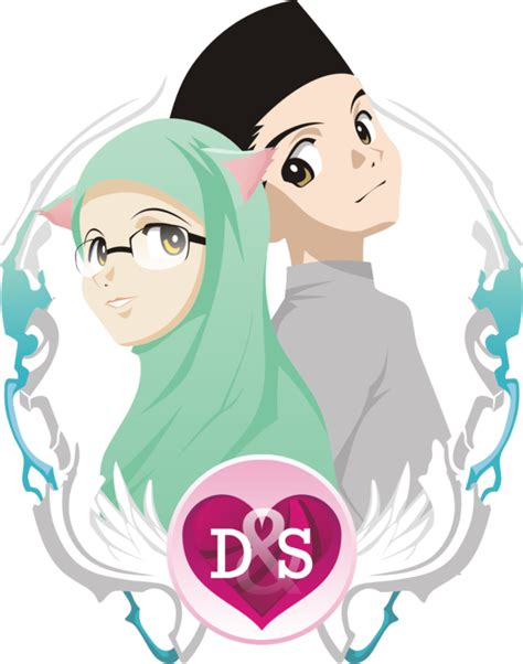hijab vector pengantin    pengantin seni