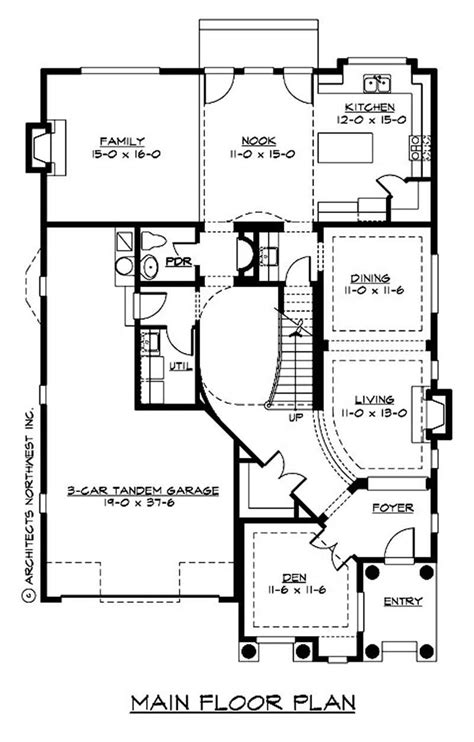 Tudor House Plans  Home Design Cd 3455c # 9299
