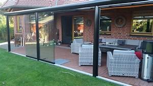 Aluminium Terrassenüberdachung Glas : berdachung aluminium mit glas und schiebet ren team is tec ihr spezialist f r alu berdachungen ~ Whattoseeinmadrid.com Haus und Dekorationen