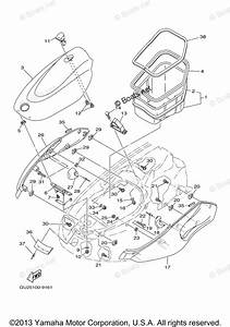 Yamaha Waverunner Parts 2000 Oem Parts Diagram For Engine Hatch 2