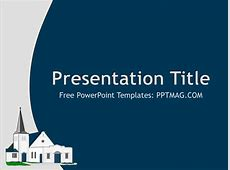 Free Church PowerPoint Template PPTMAG
