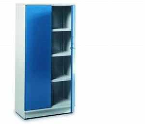 Armoire D Atelier : armoire m tallique d 39 atelier portes battantes 5 niveaux devis ~ Teatrodelosmanantiales.com Idées de Décoration