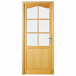 porte d39interieur bois langeais pasquet menuiseries With style de porte interieur