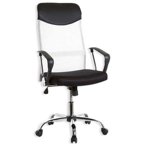 siege ordinateur fauteuil de bureau noir et