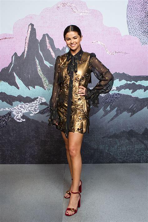 Selena Gomez At Coachu2019s Fashion Week Show u2014 Front Row For Spring 2019 u2013 Hollywood Life