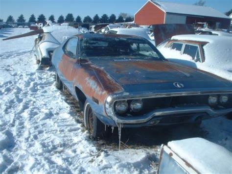 purchase   plymouth roadrunner project car