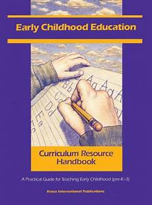 Early Childhood Education Curriculum Resource Handbook  A