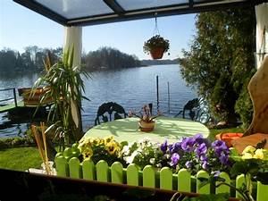 Ferienhaus Am Wasser Deutschland : idyllische lage direkt am see 1 5m mit eigenem steg sitzecke 39 auf dem wasser zernsdorf ~ Watch28wear.com Haus und Dekorationen