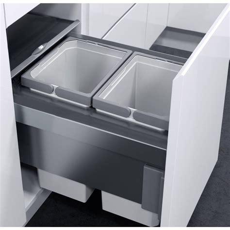 Cupboard Bin by Vauth Sagel Oko Liner 20l Pull Out Bin For 400mm Door
