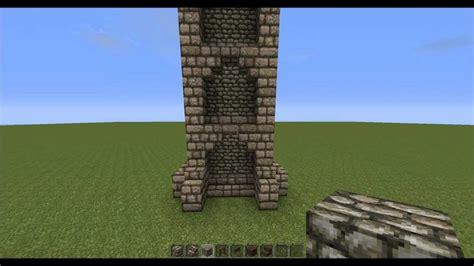 minecraft  gothic tower tutorial youtube