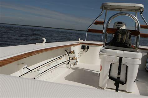 Skiff Navigation Lights by Emerger Technical Poling Skiff 16 Flats Fishing Boat