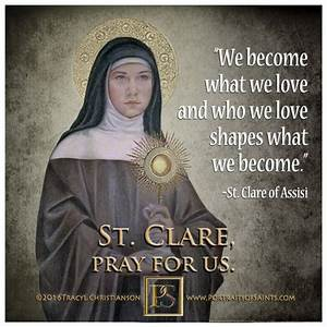 56 best St. Cla... Father Assisi Quotes