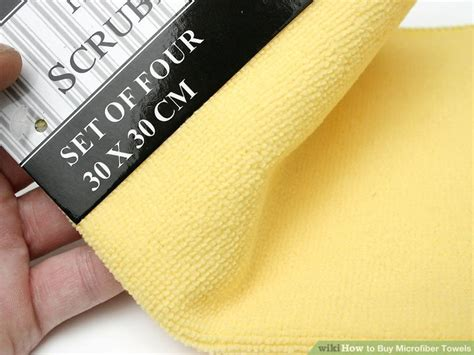 buy microfiber towels  steps  pictures