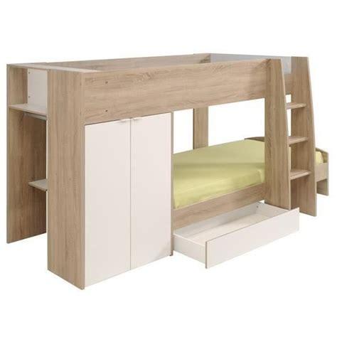 lit superposé avec lit superpose avec rangement achat vente lit superpose