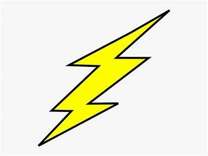 Lightning Bolt Flash Outline Clipart Clipartkey