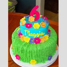 Luau Birthday Cakes  Maggie's Luau — Children's Birthday
