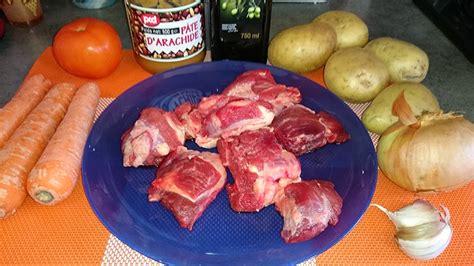 cuisine africaine facile ma cuisine facile ragoût de bœuf à l arachide