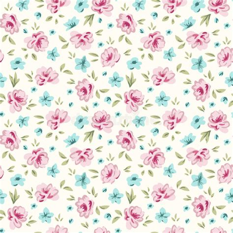 shabby chic floral pattern simple rose 3 stock image image of backdrop print element 30337591