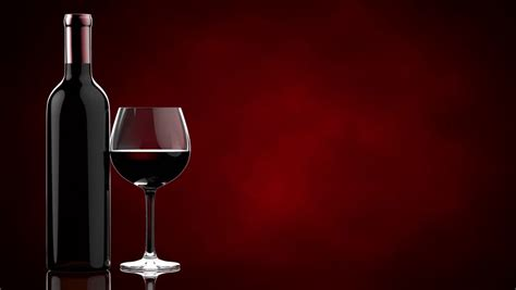 Wine Background Wine Poured In Glass Stock Footage 2715938