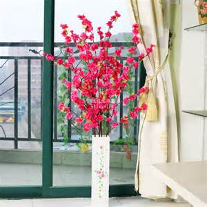 dining room table arrangements blossom artificial flower living room dining table