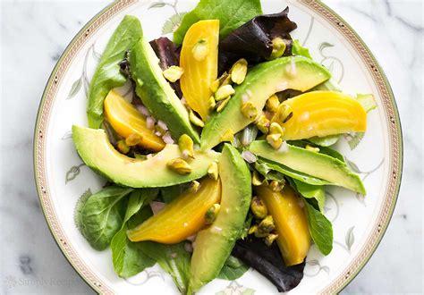 morocan cuisine avocado beet salad with citrus vinaigrette recipe