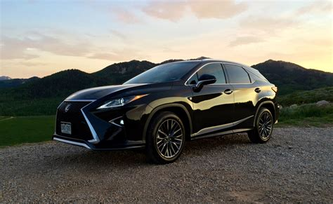 lexus f sport 2016 lexus rx 350 f sport brings the fun for a price