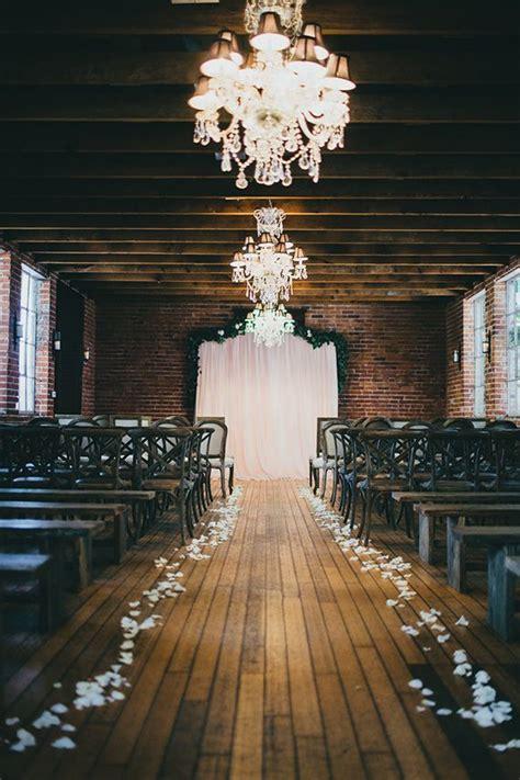 35 Dreamy Indoor Wedding Ceremony Backdrops Indoor