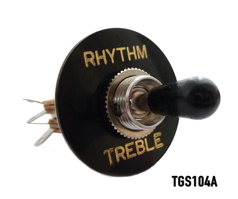 Way Straight Toggle Switch Surround For Gibson Les