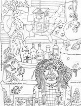 Kathy Coloring Drawn Sturr Study sketch template